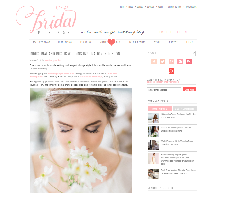 Featured // Bridal Musings
