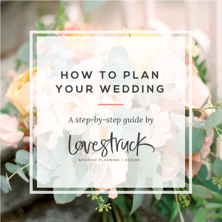 HOW TO PLAN YOUR WEDDING // 5 questions to kick-start the wedding planning process